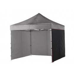 Lateral carpa 3 mts Negro liso